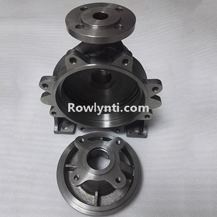 Volute titanium pump body casting